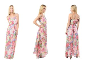 Floral Multi Maxi Dress by Jack by BB Dakota Preia Floral Chiffon