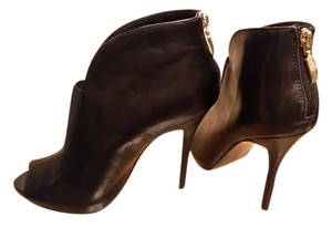 Guess Open Toe Black Boots