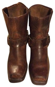 Durango Vintage Leather Brown Boots