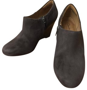 Clarks Grey Boots