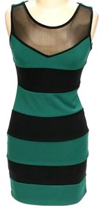 Zara Color-blocking Shift Sheath Dress