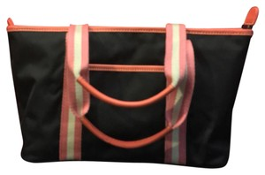 Banana Republic Tote in Black And Coral