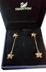 Swarovski Swarovski fizz stars earrings