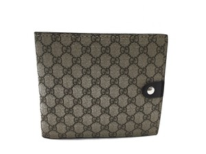 Gucci Gucci Wallet Beige Brown GG Plus Leather