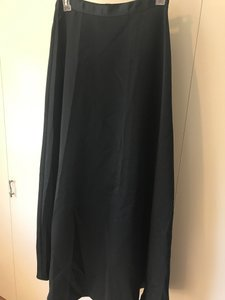 A.B.S. by Allen Schwartz Floor Length Evening Formal Skirt Black