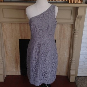 J.Crew Leavers Lace Alexa Fully Lined One Sleeve Dress