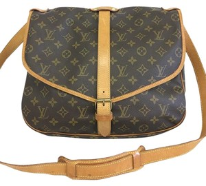 Louis Vuitton Monogram Saumur 35 Shoulder Bag