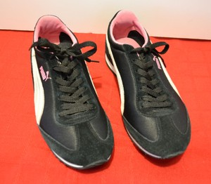 Puma Size9 Black & Pink &Gray Athletic