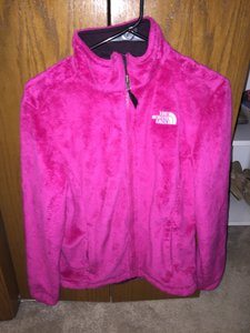 The North Face Full Fleece Pink Jacket