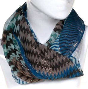 Missoni Silk Chevron Print