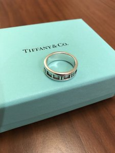 Tiffany & Co. Tiffany & Co. Sterling Silver Atlas Ring
