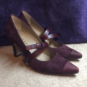 Anyi Lu Plum Pumps