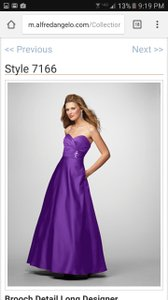 Alfred Angelo Viola 7166 Dress