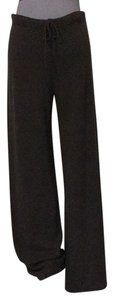 Neiman Marcus Cashmere Dry Clean Relaxed Pants taupe