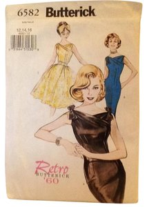 Butterick Retro 1960, 12 - 16 Dress