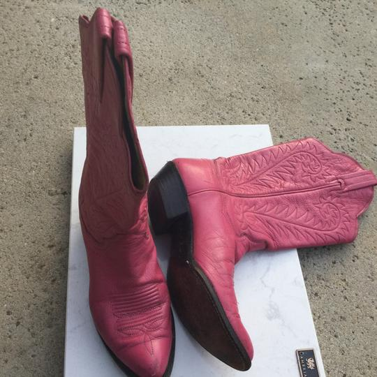 Preload https://img-static.tradesy.com/item/20017970/panhandle-slim-pink-western-cowboy-vintage-bootsbooties-size-us-6-regular-m-b-0-0-540-540.jpg