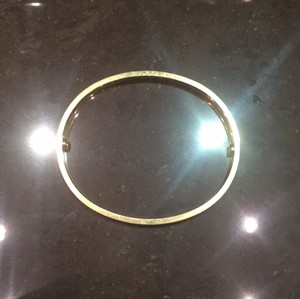 Cartier love gold bracelet