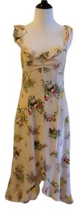 Nanette Lepore Dry Clean Silk Lining Made In Usa Dress