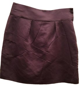 Chloé Mini Skirt purple