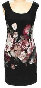 Vivienne Tam Floral Sleeveless Shift Dress