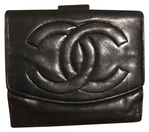 Chanel Authentic Chanel Wallet Lamb Skin