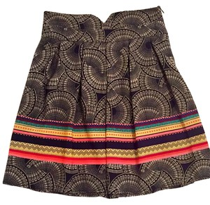Francesca's Mini Skirt Multicolor
