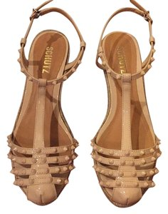 SCHUTZ Nude Rose Sandals