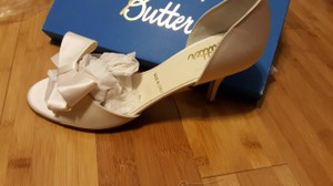 Butter Wedding Shoes