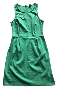 Old Navy short dress Green Fitted Sheath Work on Tradesy