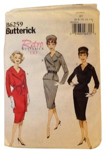 Butterick, Retro, 6 - 14 Dress