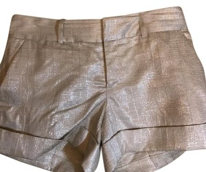 Club Monaco Dress Shorts Beige and silver