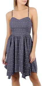 O'Neill short dress Gray/Blue Sweetheart Adjustable on Tradesy