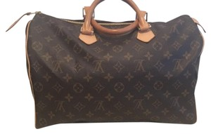 Louis Vuitton Monogram Speedy 35 Satchel