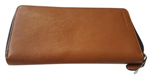 Coach Wallet Designer Wristlet in Brown