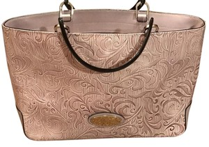 Cromia Tote in Lilac Leather