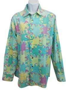 Emilio Pucci Cotton Blouse Button Down Shirt