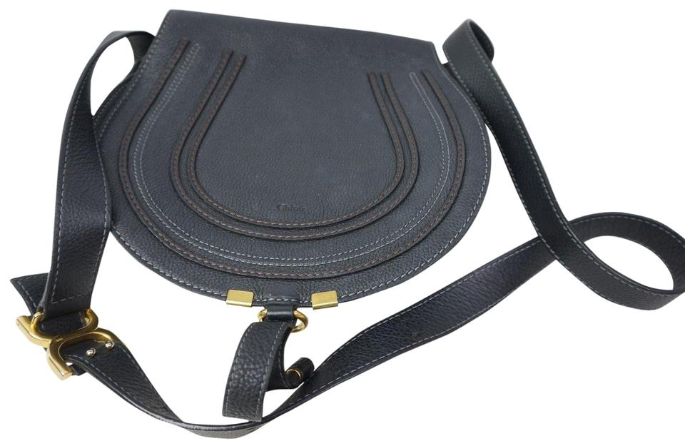 Marcie Leather Chloé Body Bag Black Medium Cross azqxqRdO