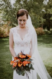 Misty Rose Wedding Dress