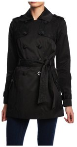 Jessica Simpson Trench Classic Satin Trench Coat