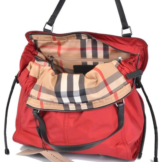 Burberry Nylon Red Tote Bag | Totes on Sale at Tradesy