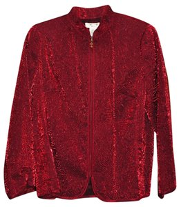 Laura Ashley Red Blazer
