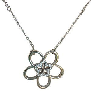 Brighton Flower Crystal Necklace