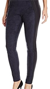 Elie Tahari Navy & Black Leggings