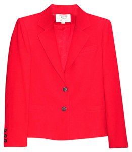 Saville Red Blazer