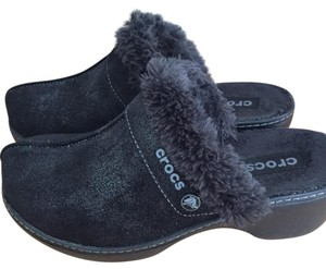 Crocs Black Mules