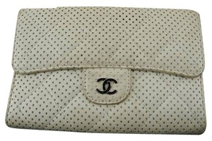 Chanel Perforated Classic Flap Wallet 210772