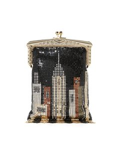 Whiting & Davis Mesh Cross Body Bag