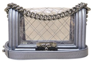 Chanel Small Le Boy Pvc Shoulder Bag