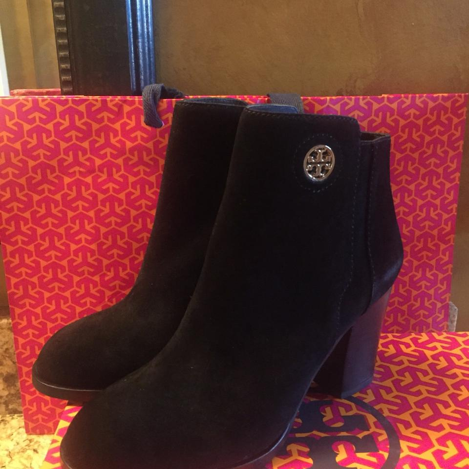 8029dee77ca1 Tory Burch Black Junction Boots Booties Size US 7.5 Regular (M