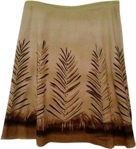 Liz Claiborne Cotton Skirt Pale Green
